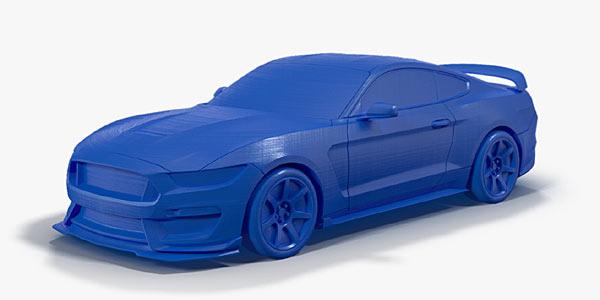 Ford Macht 3d Druck Autokiste