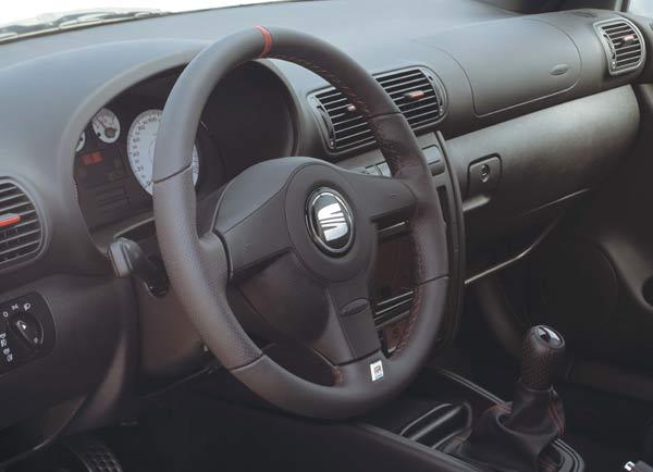 Großbild: Interieur Seat Leon Cupra [Autokiste]