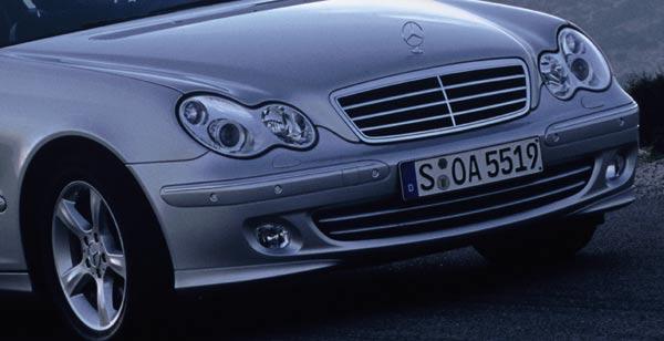 fotostrecke: facelift für die mercedes c-klasse (w203) (bild 2 von 6