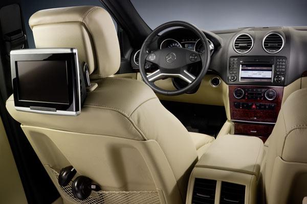 Задние мониторы Mercedes GLE