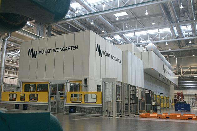 Fotostrecke Das Modernisierte Audi Presswerk In