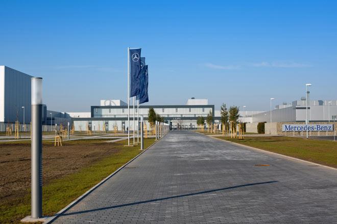 Mercedes Werk Ungarn